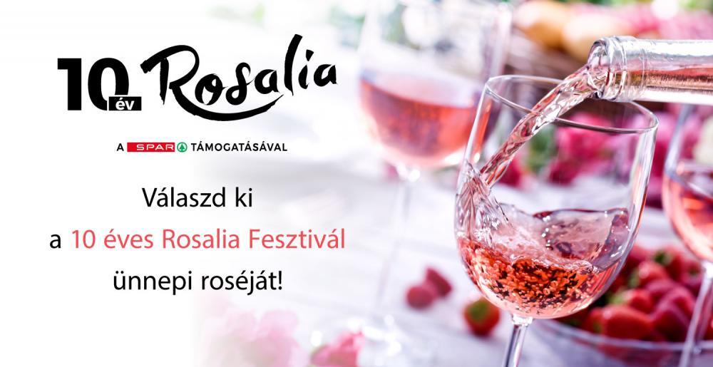10. Rosalia - Rosé és Pezsgő Liget