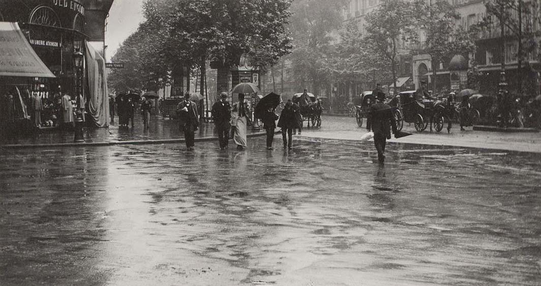 Párizs a Cyrano de Bergerac bemutatásának évében (1897)