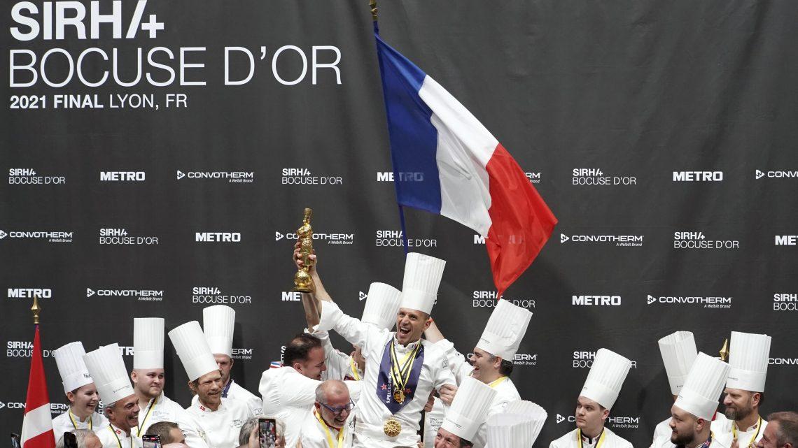 Bocuse d'Or 2021 - Franciaország csapata az élen